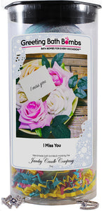 I Miss You | Greeting Bath Bombs®-Jewelry Bath Bombs-The Official Website of Jewelry Candles - Find Jewelry In Candles!