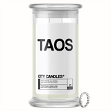 Taos City Jewelry Candle