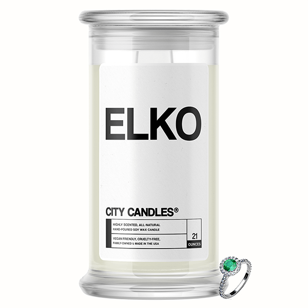 Elko City Jewelry Candle