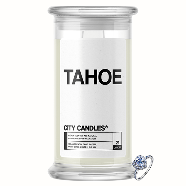 Tahoe City Jewelry Candle