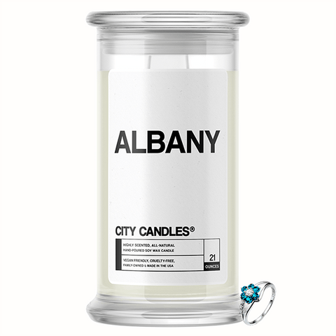 Albany City Jewelry Candle