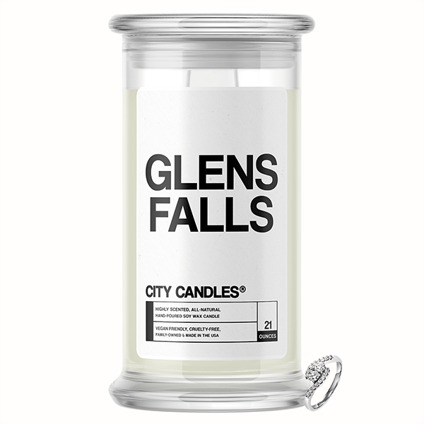 Glens Falls City Jewelry Candle