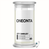 Oneonta City Jewelry Candle