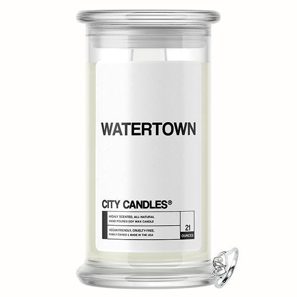 Watertown City Jewelry Candle