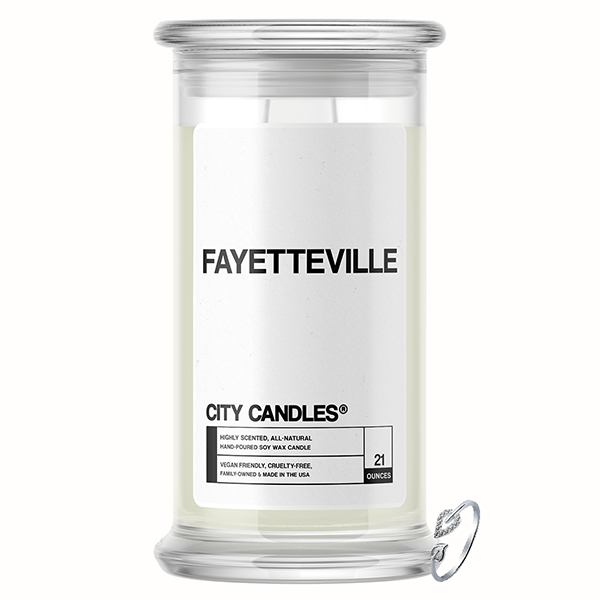 Fayetteville City Jewelry Candle