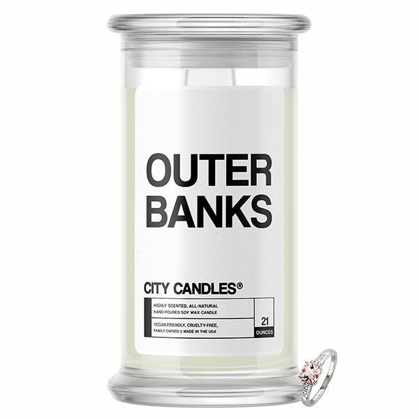 Outer Banks City Jewelry Candle
