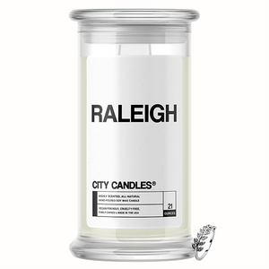 Raleigh City Jewelry Candle