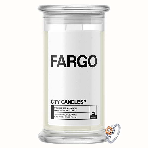 Fargo City Jewelry Candle