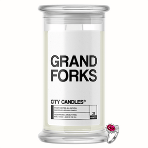 Grand Forks City Jewelry Candle