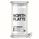 North Platte City Jewelry Candle