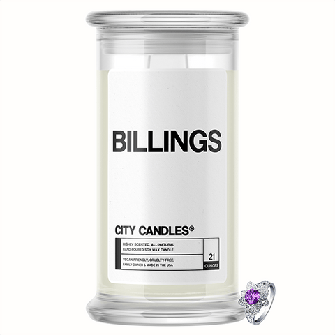 Billings City Jewelry Candle