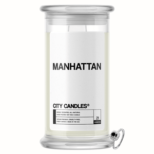 Manhattan City Jewelry Candle