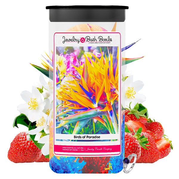 Birds of Paradise Jewelry Bath Bombs Twin Pack