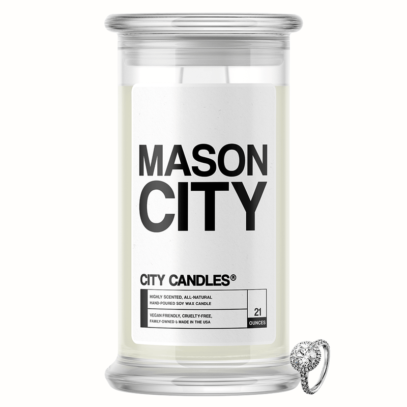 Mason City City Jewelry Candle