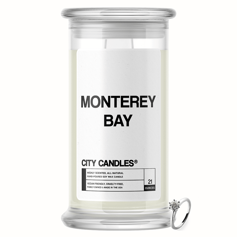 Monterey Bay City Jewelry Candle
