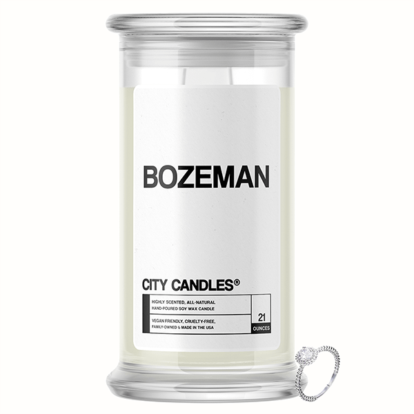 Bozeman City Jewelry Candle