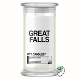 Great Falls City Jewelry Candle