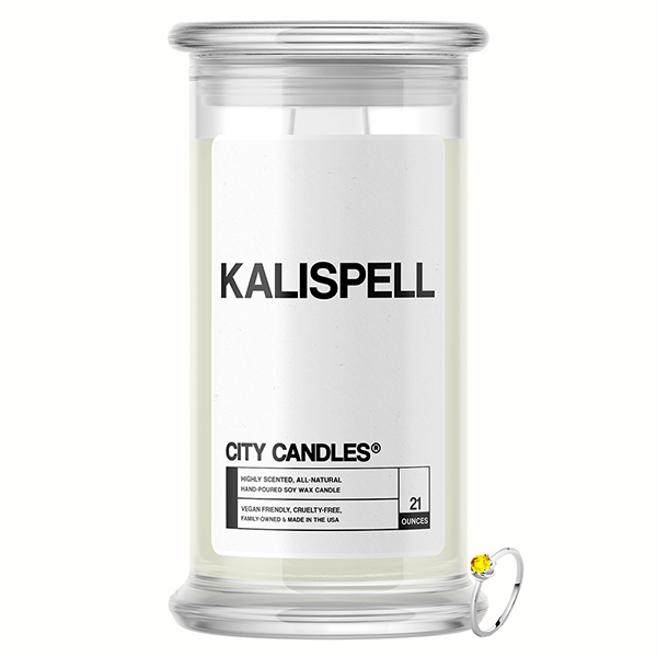Kalispell City Jewelry Candle