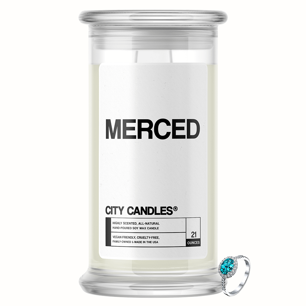 Merced City Jewelry Candle