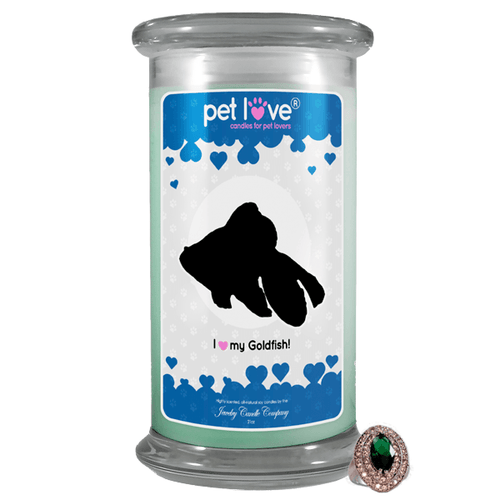 I Love My Goldfish! | Pet Love Candle®-Pet Love®-The Official Website of Jewelry Candles - Find Jewelry In Candles!