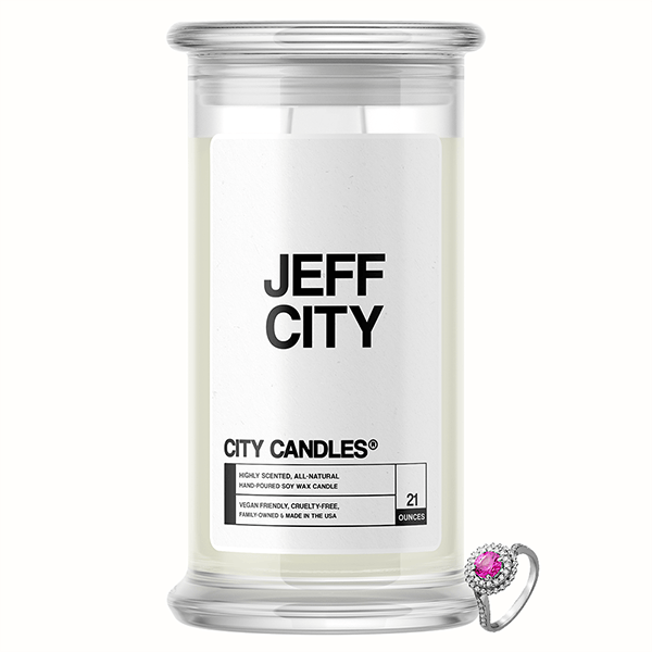 Jeff City City Jewelry Candle
