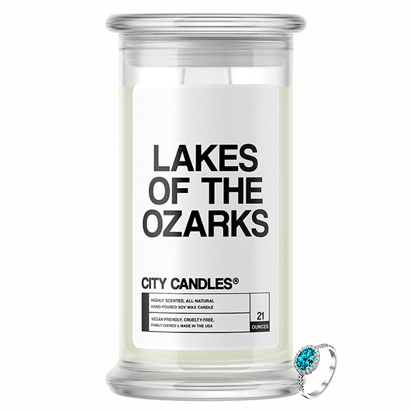 Lakes of the Ozarks City Candle