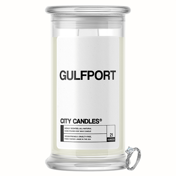Gulfport City Jewelry Candle