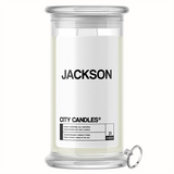 Jackson City Jewelry Candle