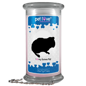 I Love My Guinea Pig! | Pet Love Candle®-Pet Love®-The Official Website of Jewelry Candles - Find Jewelry In Candles!
