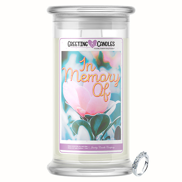 In Memory Of | Jewelry Greeting Candle