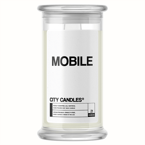 Mobile City Candle