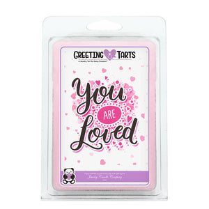 You Are Loved | Greeting Tart-Greeting Tarts-The Official Website of Jewelry Candles - Find Jewelry In Candles!
