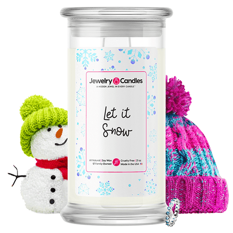 Let It Snow Jewelry Candle