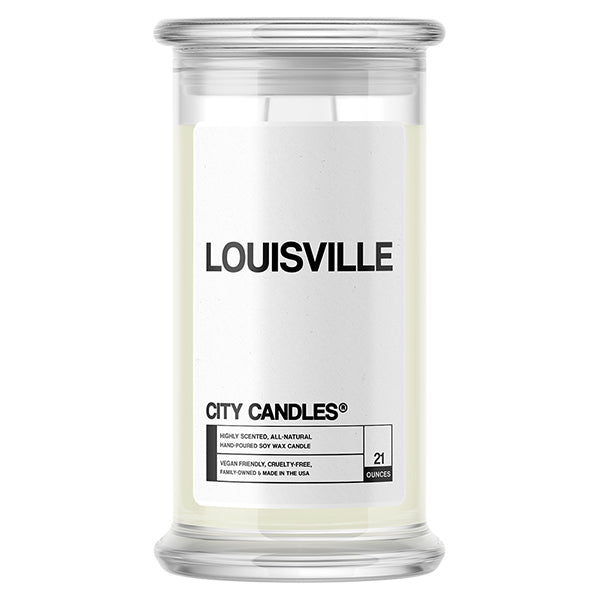 Louisville City Candle