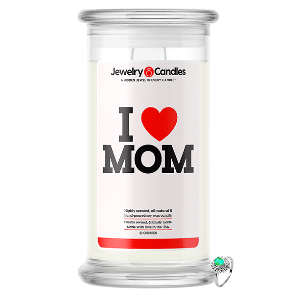 I Love Mom | Jewelry Love Candle®