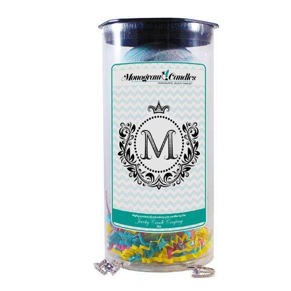 Letter M | Monogram Bath Bombs-Jewelry Bath Bombs-The Official Website of Jewelry Candles - Find Jewelry In Candles!