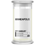 Minneapolis City Candle