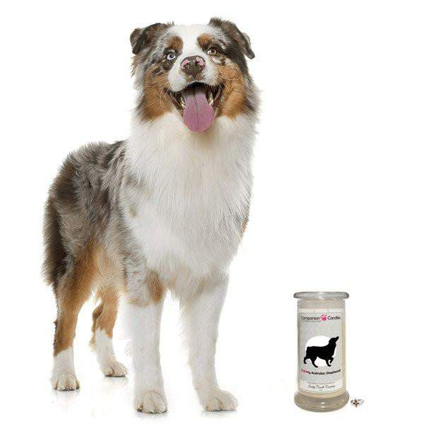 I Love My Australian Shepherd! - Companion Candles-Companion Candles-The Official Website of Jewelry Candles - Find Jewelry In Candles!