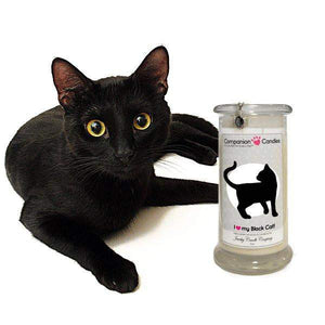 I Love My Black Cat! - Companion Candles-Companion Candles-The Official Website of Jewelry Candles - Find Jewelry In Candles!