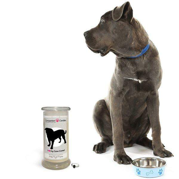 I Love My Cane Corso! - Companion Candles-Companion Candles-The Official Website of Jewelry Candles - Find Jewelry In Candles!