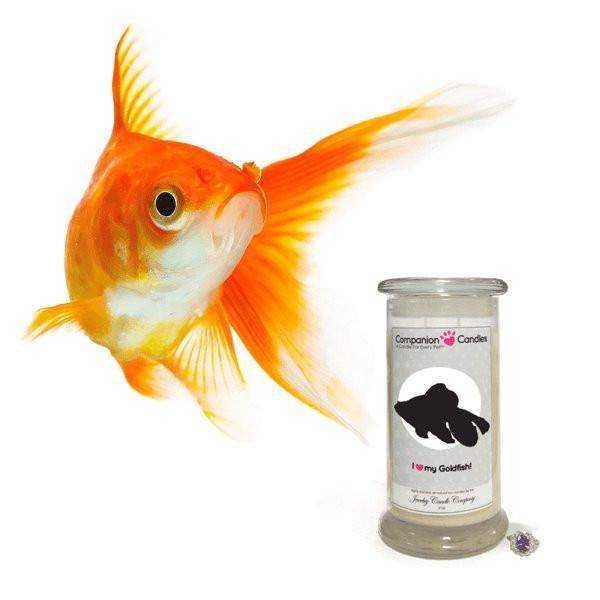 I Love My Goldfish! - Companion Candles-Companion Candles-The Official Website of Jewelry Candles - Find Jewelry In Candles!