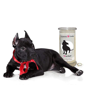 I Love My Pitbull! - Companion Candles-Companion Candles-The Official Website of Jewelry Candles - Find Jewelry In Candles!