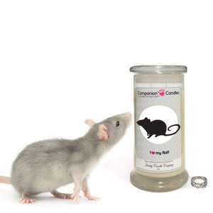 I Love My Rat! - Companion Candles-Companion Candles-The Official Website of Jewelry Candles - Find Jewelry In Candles!