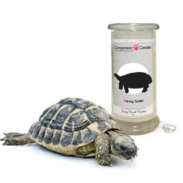 I Love My Turtle! - Companion Candles-Companion Candles-The Official Website of Jewelry Candles - Find Jewelry In Candles!