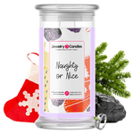 Naughty Or Nice Jewelry Candle