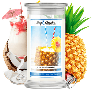 If You Like Piña Coladas! Ring Candle