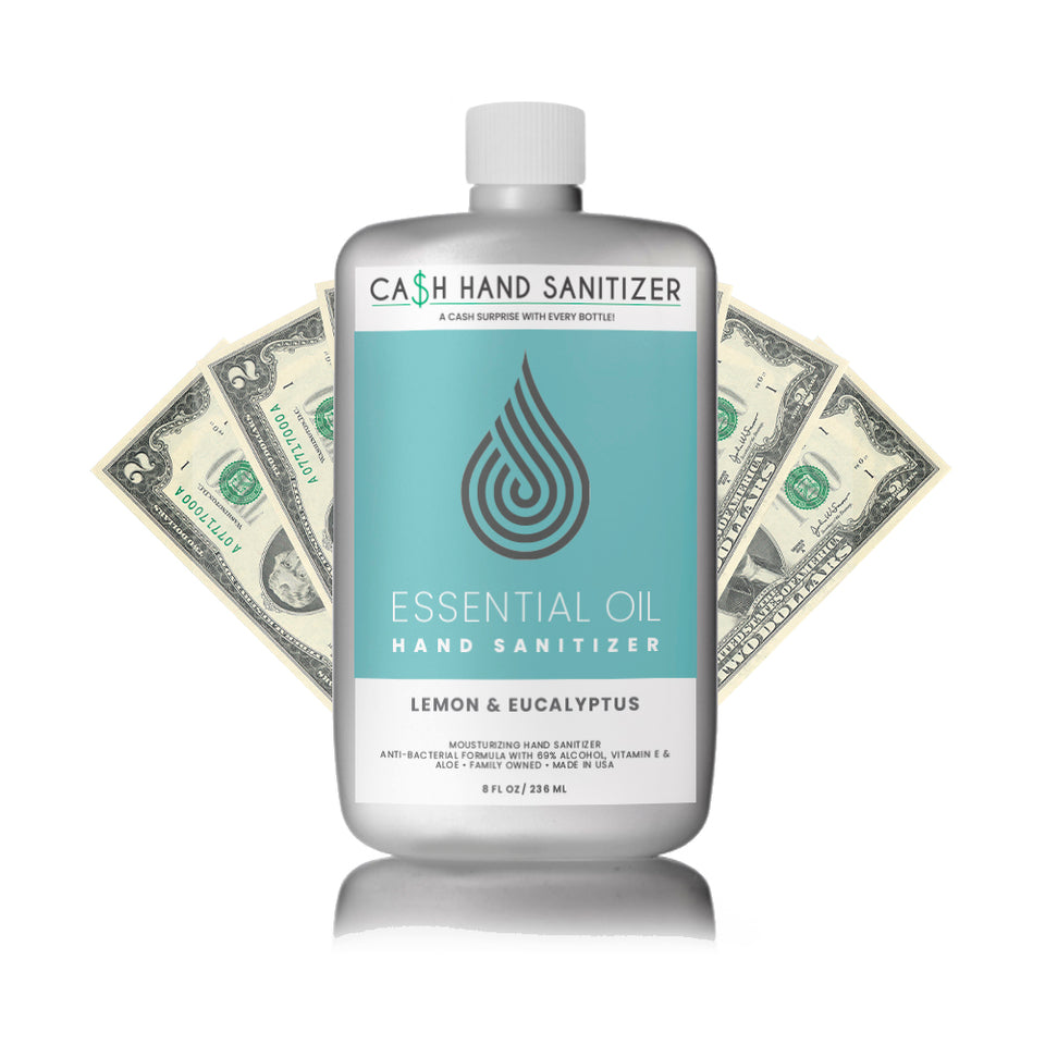 Cash Hand Sanitizer (Infused With Essential Oils)