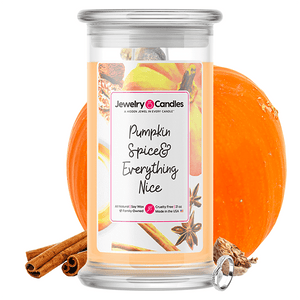 Pumpkin Spice & Everything Nice Jewelry Candle