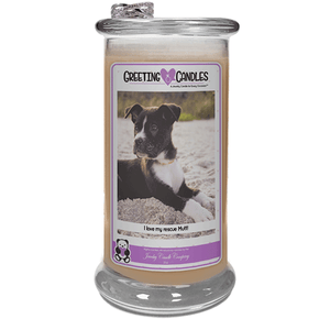 I Love My Rescue Mutt! | Jewelry Greeting Candles-I love my rescue Mutt! - Jewelry Greeting Candles-The Official Website of Jewelry Candles - Find Jewelry In Candles!