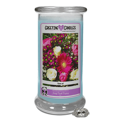 I Love Us! | Jewelry Greeting Candles-Jewel Candles-The Official Website of Jewelry Candles - Find Jewelry In Candles!